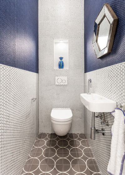 Contemporain Toilettes by Hisbalit