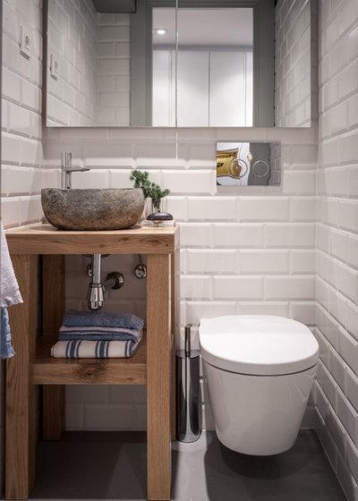 Sådan indretter du et mini-badeværelse