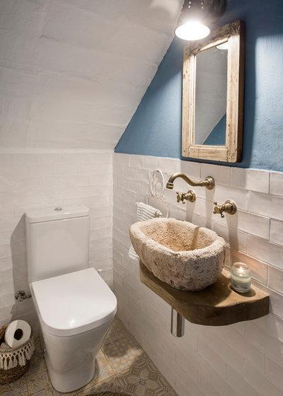 Méditerranéen Toilettes by Nice Home Barcelona