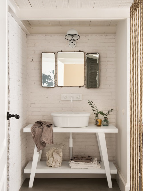 Shabby-Chic Style Bath Design Ideas, Pictures, Remodel ...
