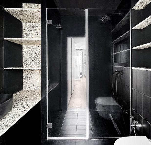 Contemporáneo Aseo by Raúl sánchez Architects