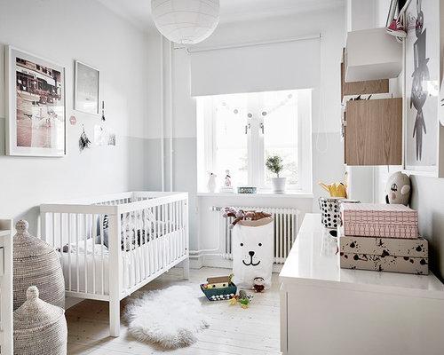 Gro e skandinavische babyzimmer gestalten ideen design - Babyzimmer skandinavisch ...