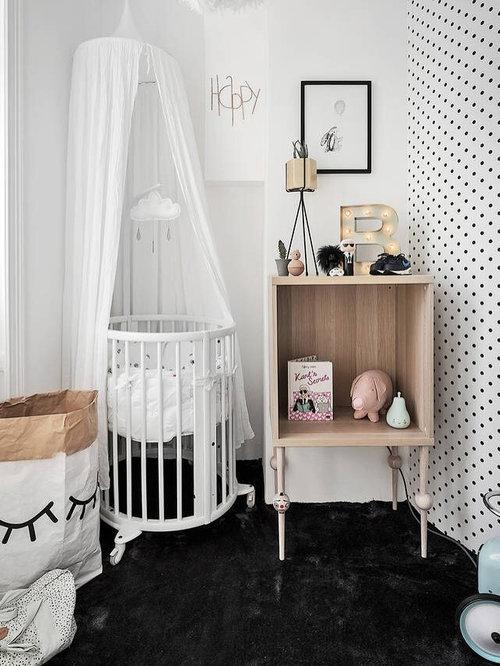 Einrichtungsidee Für Moderne Babyzimmer In Stockholm