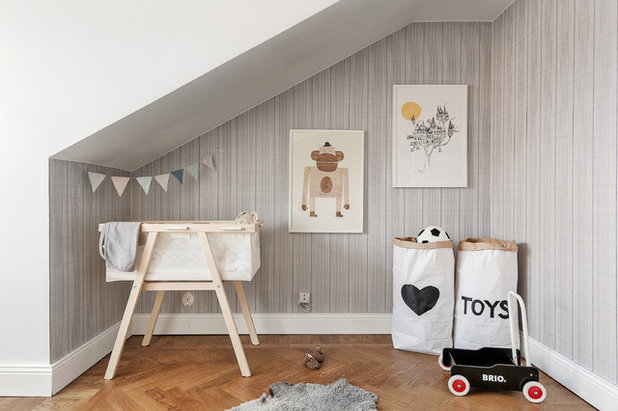 Scandinavian Nursery by Kronfoto