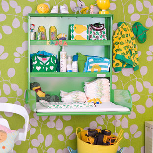 This is an example of a scandinavian nursery in Gothenburg.