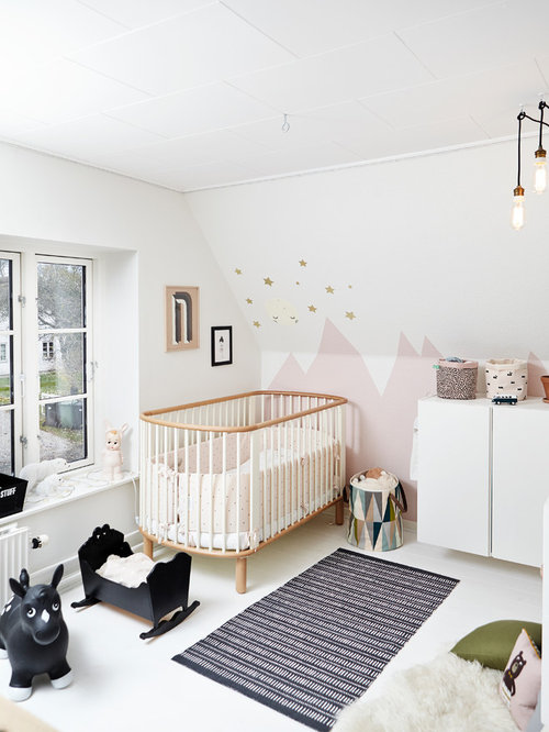 Babyværelse dekoration – Design et barns værelse