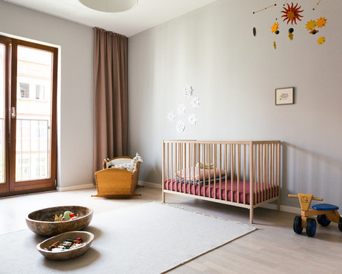 skandinavische babyzimmer ideen design bilder houzz. Black Bedroom Furniture Sets. Home Design Ideas