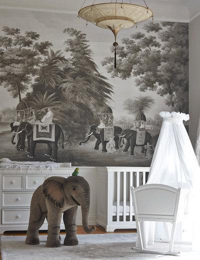 Tropical Nursery by Julia Rafflenbeul Interior Architecture