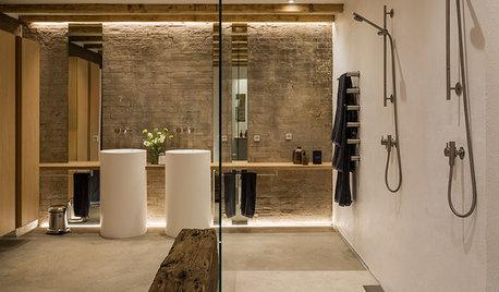 Arkitektens badeværelse i Fredericia – 100 stilede kvadratmeter