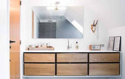 17 inspirerende rum: Derfor er træ på badeværelset en skøn idé
