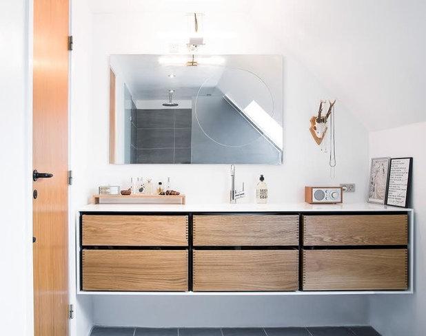 北欧 浴室 by Garde Hvalsoe