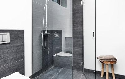 Tæpper på badeværelset? Jo, det kan både være pænt og praktisk