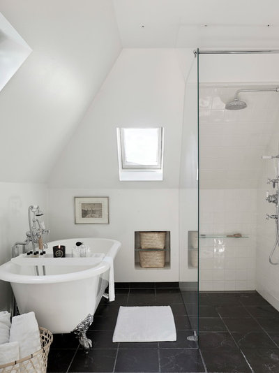 Transitional Bathroom by SwanfieldLiving