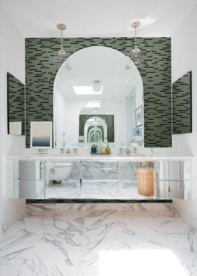Traditional Bathroom by IDÉGÅRDEN LIVING