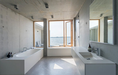 A Minimalist Dream by the Water in Denmark
