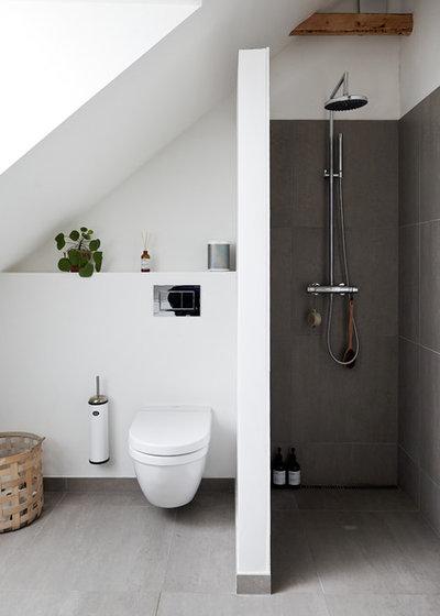 Nórdico Cuarto de baño by Mia Mortensen Photography