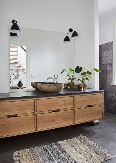 北欧 浴室 by A Finess by Tine Hundrup