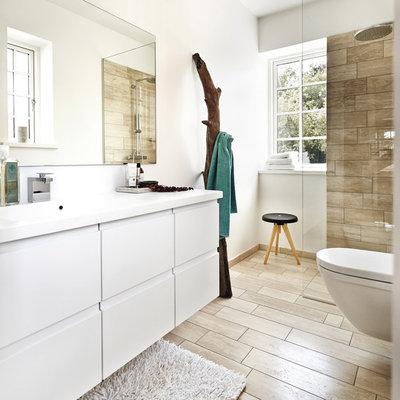 Scandinavian Bathroom by JKE Design Viborg