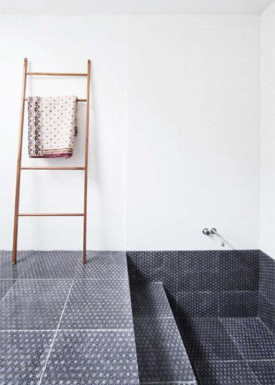 kreativer badboden ideen f r bodenfliesen im bad. Black Bedroom Furniture Sets. Home Design Ideas