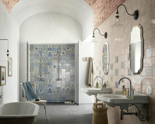 110 stil mediterranean home design photos - Landhauskchen Mediterran