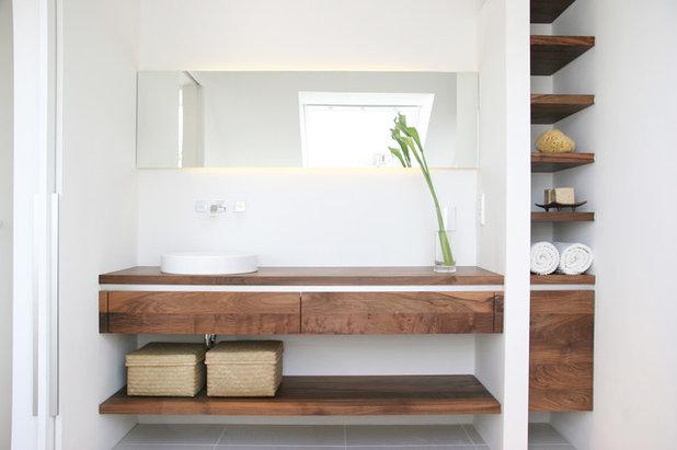 Modern Badezimmer By Eva Lorey Innenarchitektur