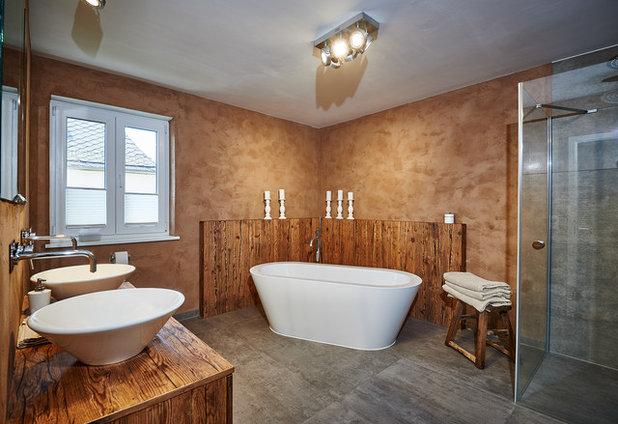 Modern Badezimmer By Holztraum