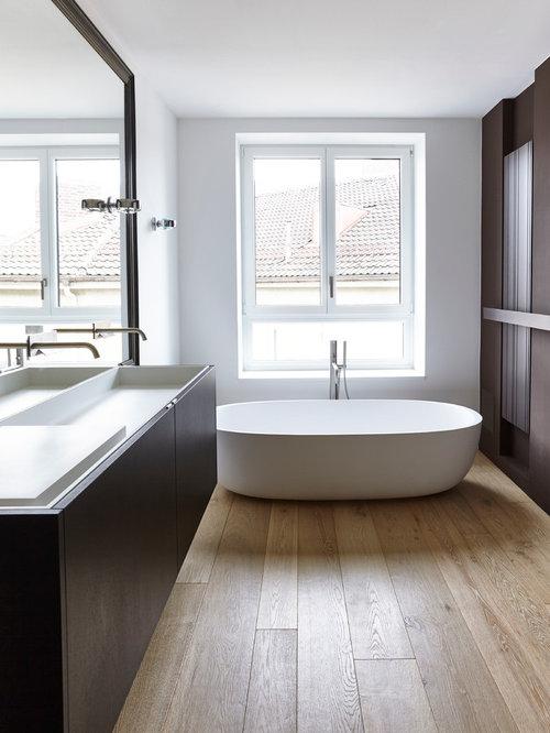 Wohnideen für Mittelgroße Moderne Badezimmer En Suite mit ...