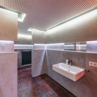 Modernes Badezimmer in Frankfurt am Main