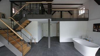 Ausbau einer Scheune zum Wellnessbereich_ Erdgeschoss
