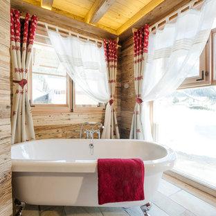 Badewanne Rustikal | Rustikale Badezimmer Mit Freistehender Badewanne Ideen Design