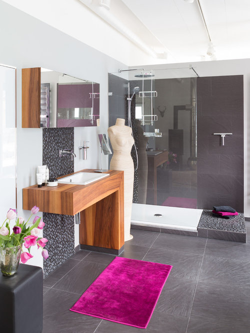 dusche ideen bilder houzz. Black Bedroom Furniture Sets. Home Design Ideas