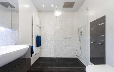Badezimmer dusche ebenerdig  Bodengleiche Dusche nachträglich einbauen - wir zeigen wie!