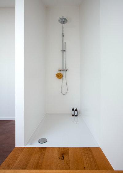 Contemporain Salle de Bain by Eva Lorey Innenarchitektur