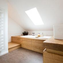 Bad im Dachstudio - Modern - Badezimmer - Frankfurt am Main ...