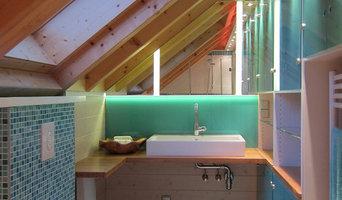 Bad in der Dachschräge