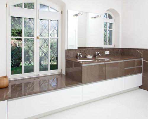 moderne badezimmer - design-ideen & beispiele für die badgestaltung - Modernes Badezimmer