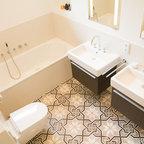 bad jugendstil mix modern - klassisch modern - badezimmer, Badezimmer