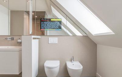 Smarter baden: Wie viel Technik im Bad ist sinnvoll?