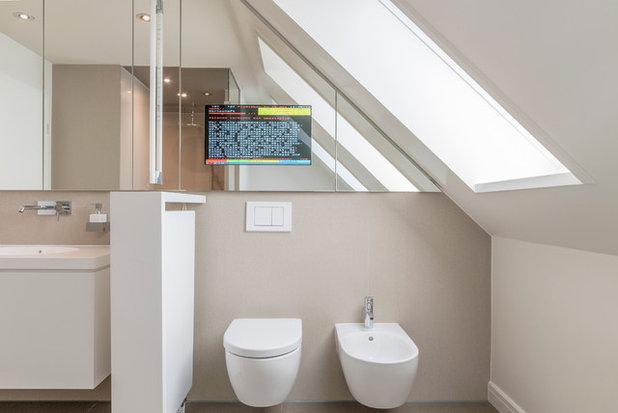 Badumbau bei hannover bodengleiche dusche und dampfsauna for Badezimmer design hannover