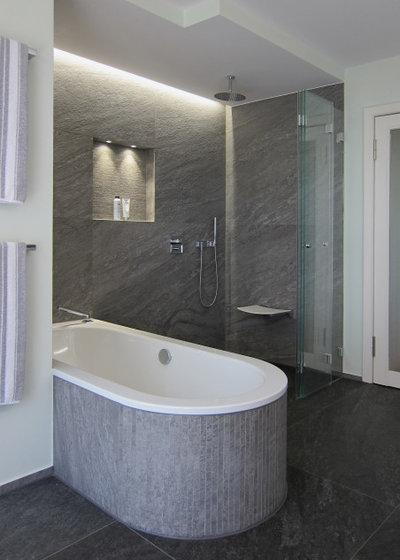 Modern Badezimmer by hansen innenarchitektur