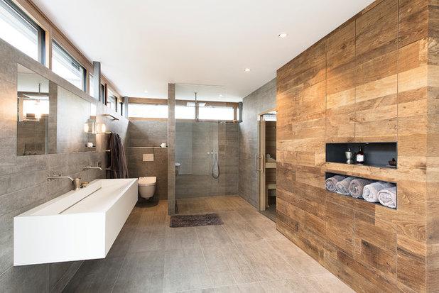 Modern Badezimmer by MH Interieur