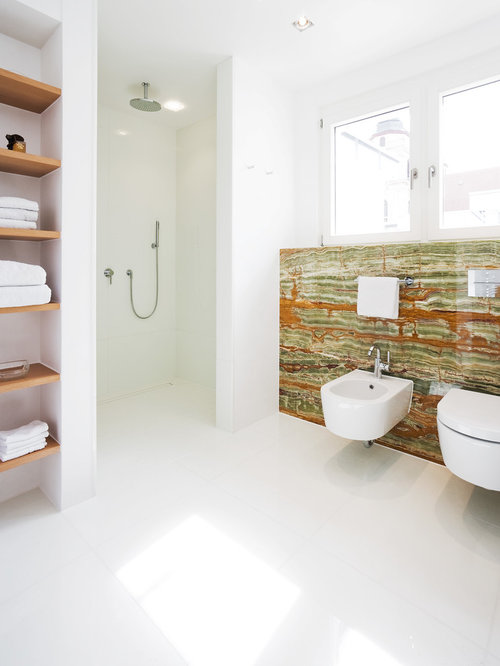 bathroom design ideas, remodels & photos with a bidet
