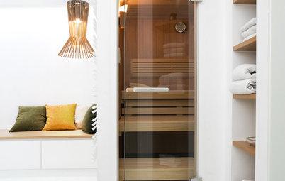 Sauna im Bad: Schwitzen im hauseigenen Spa
