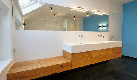 Ein Villen-Bad wird handwerklich perfekt verfeinert