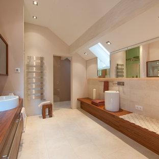 Badezimmer Mit Granit Waschbecken Waschtisch Ideen Design Bilder