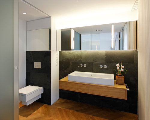 badezimmer holzboden modern innenarchitektur und m bel. Black Bedroom Furniture Sets. Home Design Ideas