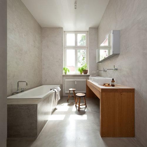 Waschtischplatte Holz waschtisch holz ideen bilder houzz
