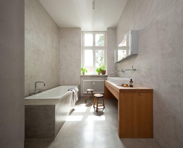 Minimalistisch Badezimmer By Britta Weißer Innenarchitekten