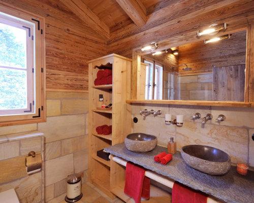 Badezimmer Chalet
