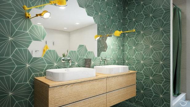 Современный Ванная комната by Banovo